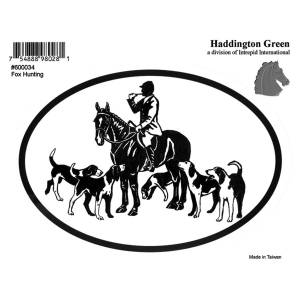 Decal - Fox Hunting - Pack Of 6