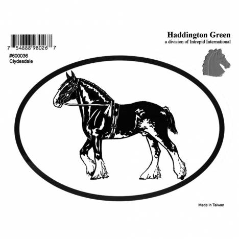 Decal - Clydesdale - Pack Of 6