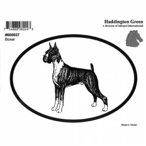 Dog Decal - Boxer - Pack Of 6