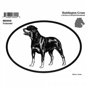 Dog Decal - Rottweiler - Pack Of 6