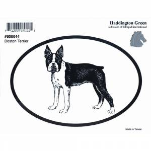 Dog Decal - Boston Terrier - Pack Of 6
