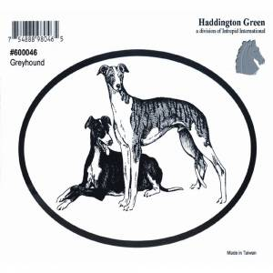 Dog Decal - Greyhound - Pack Of 6