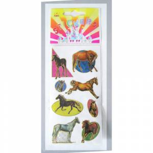 Hologram Horse Stickers