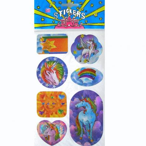 Unicorns And Rainbows Stickers