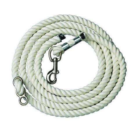 Perris White Cotton Neck Rope