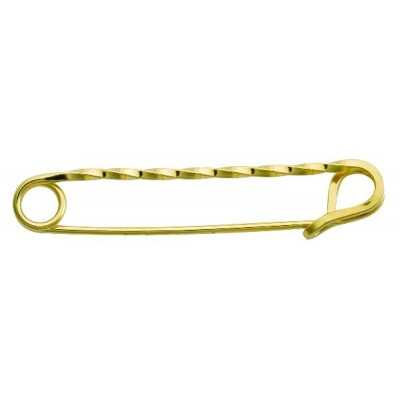 Perris Leather Jewelry Twisted Stock Pin