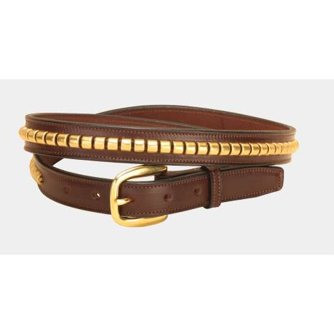 Tory Leather Men's Leather Clincher Belt