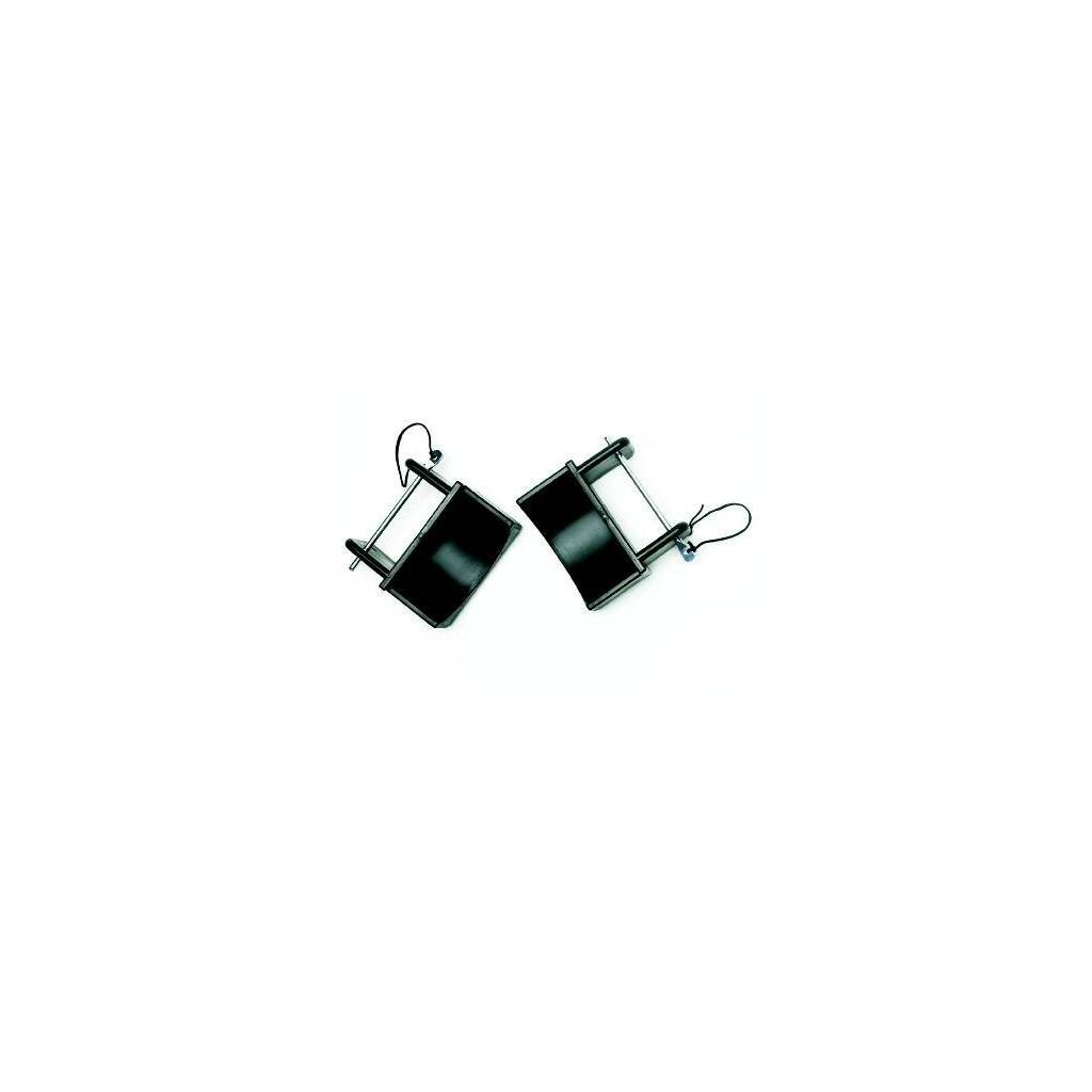 Steel Jump Cups with Black Pins