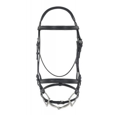 Ovation Comfort Crown Padded Dressage Bridle