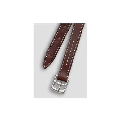 Camelot Kids Solid Leather Stirrup Leathers