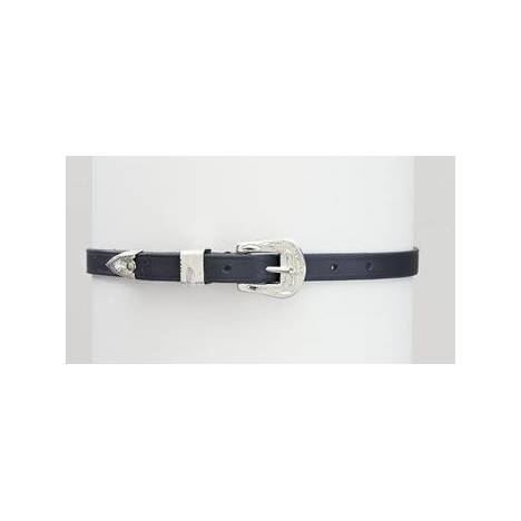Camelot Select Saddlery Silver Buckle Spur Straps