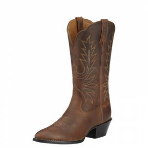 Ariat Ladies Heritage R-Toe Western Boots