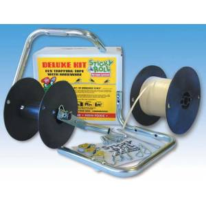 Sticky Roll Fly Tape Delxe Kit