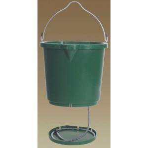 Farm Innovations Flatback Heated Bucket (Hideaway Cord)