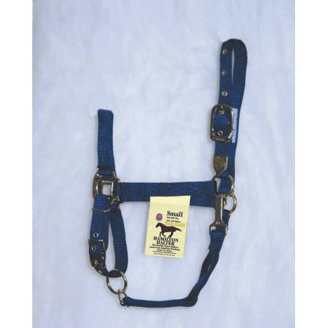 Hamilton Horse Halter with Adjustable Chin and Snap Throat