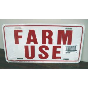 Farm Use Id Tag White