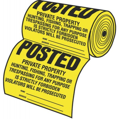 100-Piece Tyvek Sign Roll
