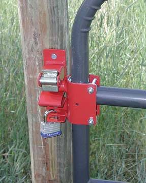 1 Way Lockable Gate Latch