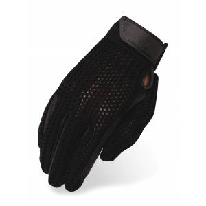 Heritage Crochet Riding Gloves - Kids