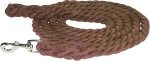 Abetta Cotton Lead with Chromed Snap