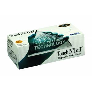 Touch N Tuff Disposable Nitrile Gloves