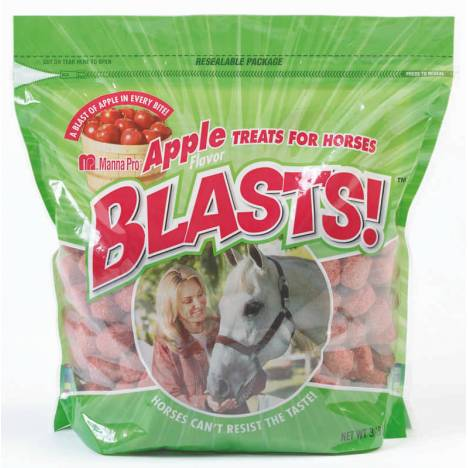 Manna Pro Blasts Horse Treats