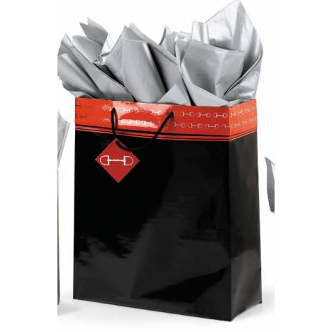 Polished Bits Super Jumbo Gift bag - Black/Red
