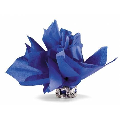 Horseshoe Gift Packaging Blue Ribbon Blue Tissue Paper