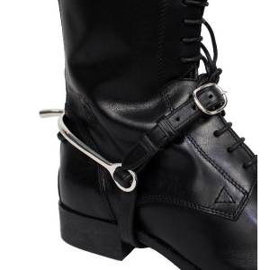 Nunn Finer Leather Spur Strap-Black