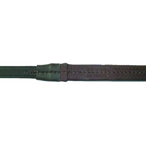 Nunn Finer Buckle End Fine Pimple Rubber Reins