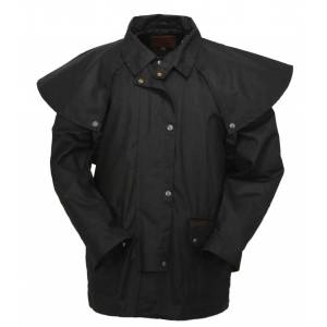 Outback Bush Rangeer Short Oilskin Jacket- Men's