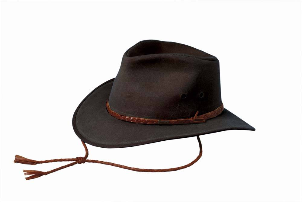 bb50cb001fc Outback Trading Oilskin Grizzly Hat- Men s