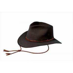 Outback Trading Oilskin Grizzly Hat- Men's