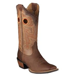 Ariat Wildstock Western Boot- Mens - Brown/Quartz