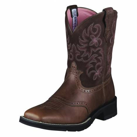 Ariat Womens Ranchbaby Square Toe Boot
