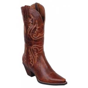 Ariat Heritage X- Toe Western Boots - Ladies - Caramel