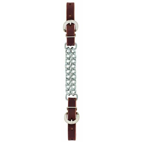 Weaver Double Flat Link Chain Curb Straps