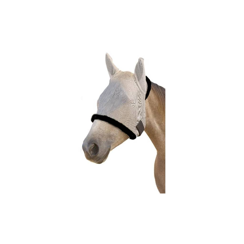 SUPERMASK II Shimmer Weave Horse Fly Mask with Ears