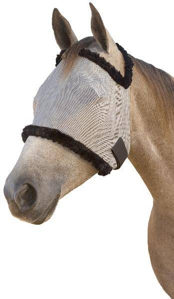 SUPERMASK II Shimmer Weave Horse Fly Mask without Ears