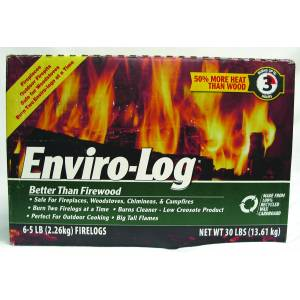 Enviro-Log Firelog - 6 Pack