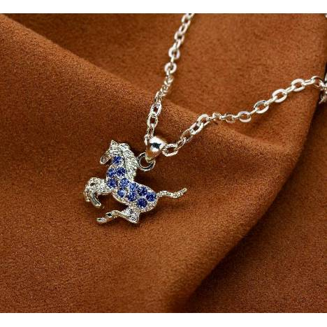 Galloping Horse Necklace