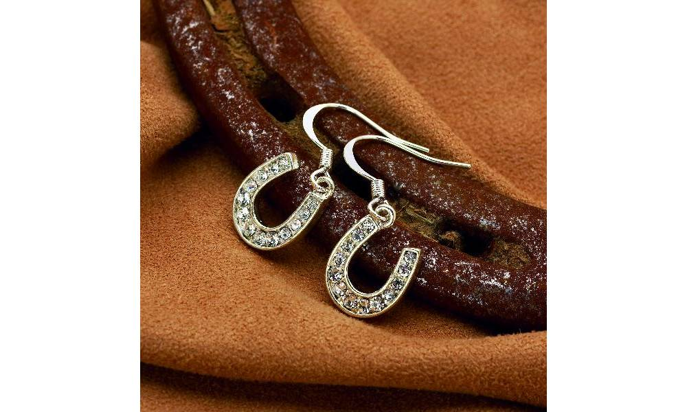 Kelley And Company Rhinestone Earrings Equestriancollections