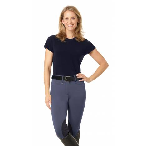 Ovation EuroWeave DX Celebrity Knee Patch Riding Breeches - Ladies