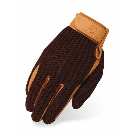 Heritage Crochet Riding Gloves