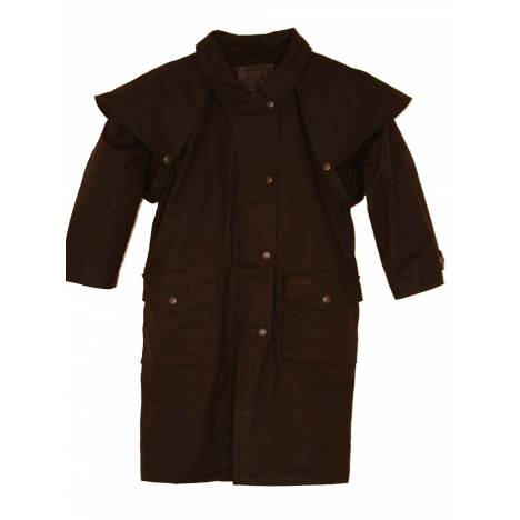 Outback Trading Oilskin Duster- Kid's