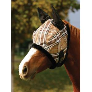 Kensington Signature Fly Mask with Mesh Ears and Fleece Trim