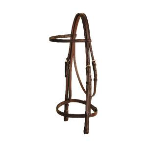 TORY LEATHER Snaffle Bridle