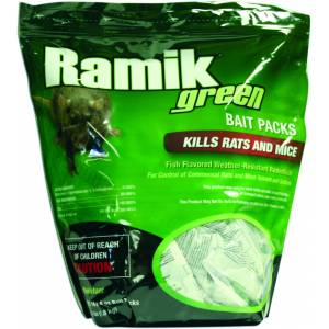 Ramik Green Nuggets Place Pack Pouch