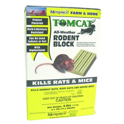 TOMCAT All-Weather Rodent Block