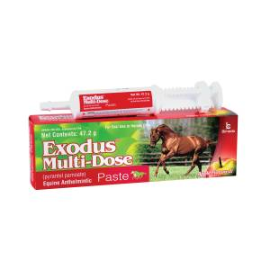Exodus Multi-Dose Paste Dewormer